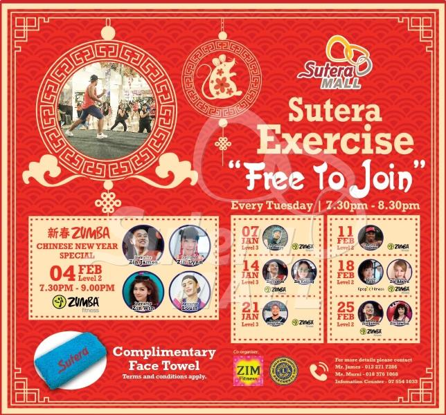 <div class='event-date'>04 Jan 2020 to 25 Jan 2020</div><div class='event-title'><h4>Sutera Exercise Jan 2020</h4></div>