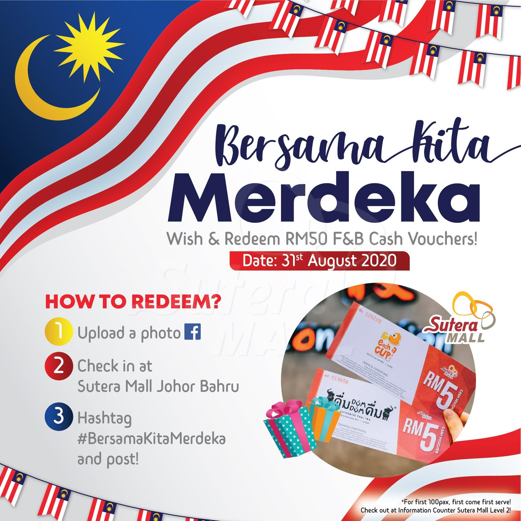 "<div class='event-date'>31 Aug 2020</div><div class='event-title'><h4>""Bersama Kita Merdeka"" Check in & Win.</h4></div>"