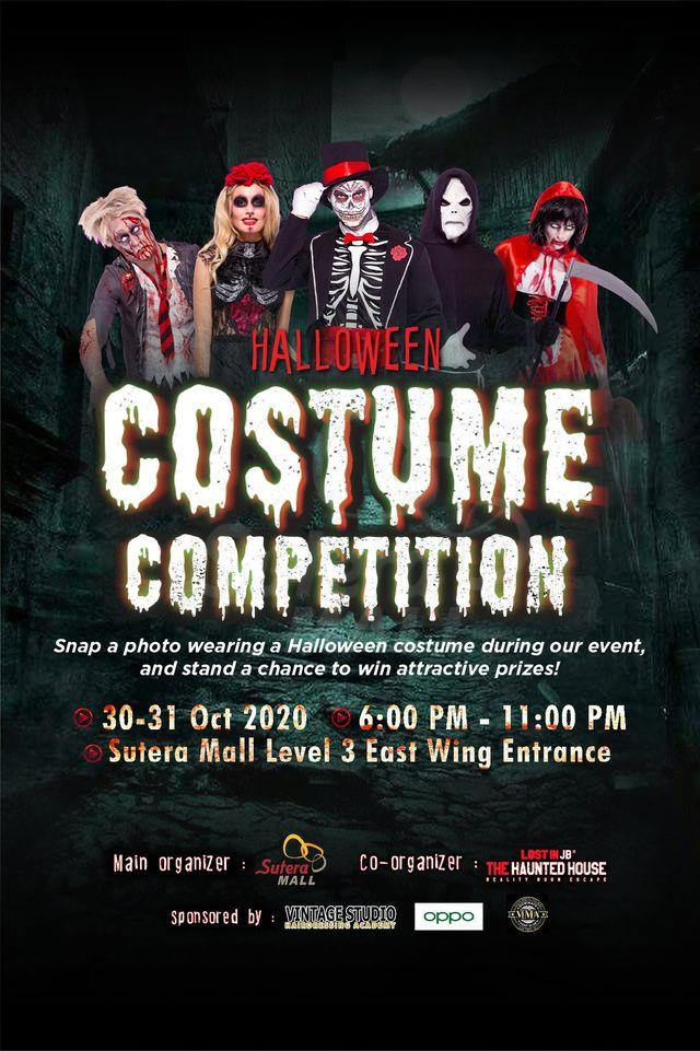 <div class='event-date'>30 Oct 2020 to 31 Oct 2020</div><div class='event-title'><h4>Halloween Costume Competition</h4></div>