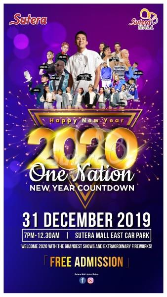 One Nation 2020 New Year Countdown Party