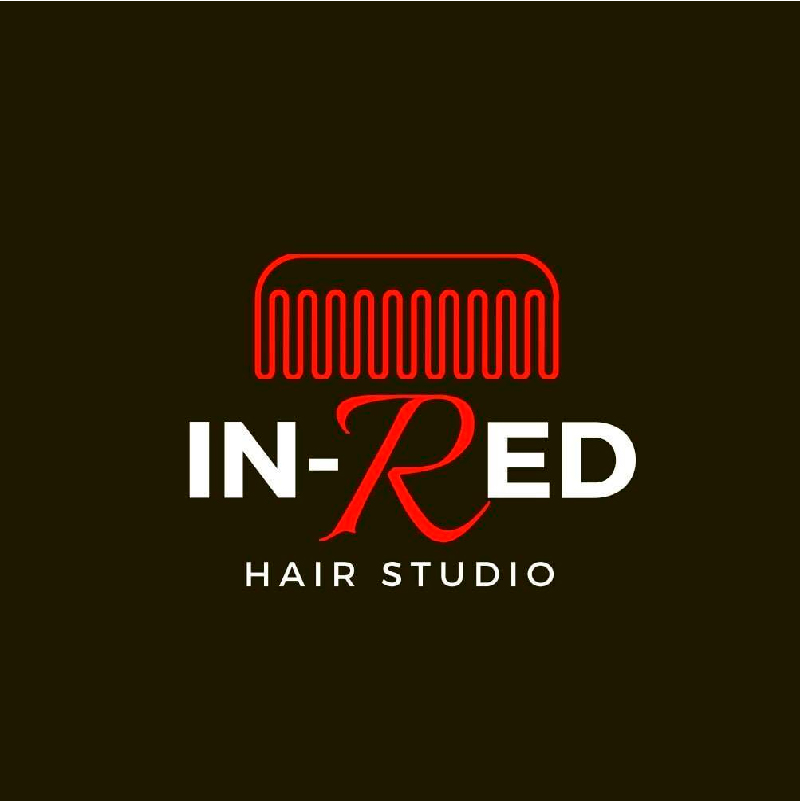 In Red Hair Salon